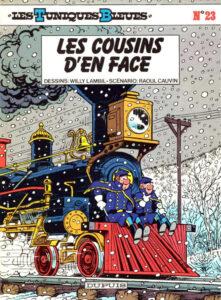 Les Tuniques Bleues 23 Les cousins d'en face Willy Lambil Raoul Cauvin Dupuis BD