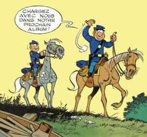 Les Tuniques Bleues caporal Blutch sergent Chesterfield