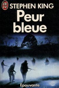 Couverture roman Peur bleue Stephen King J'ai Lu épouvante