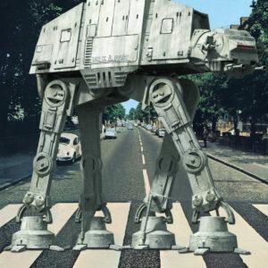 AT-AT Star Wars Abbey Road Beatles