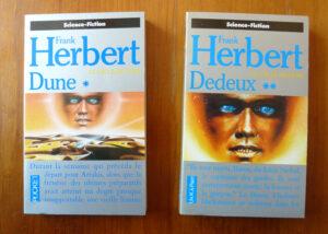 Dune Dedeux Frank Herbert cycle Pocket science-fiction