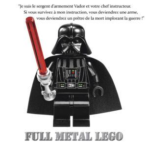 Full Metal Jacket Lego Star Wars Dark Vador