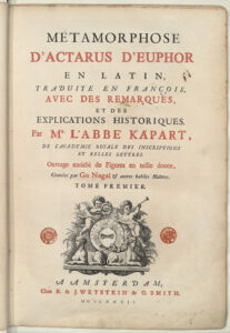 Actarus métamorphose Ovide