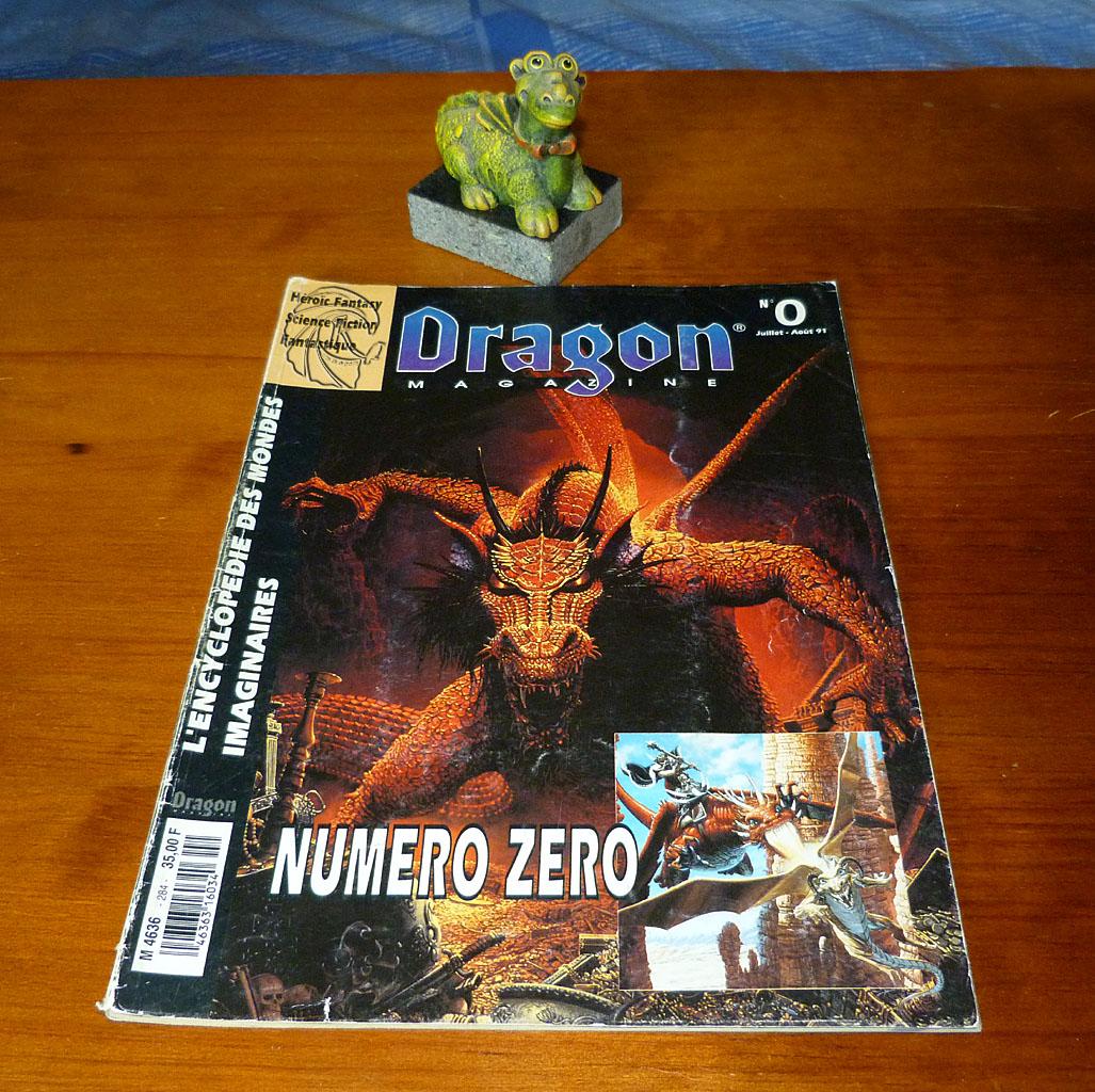 Dragon Magazine jeu de role