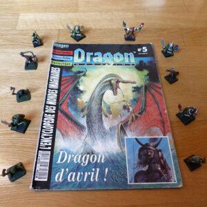 Dragon magazine 5 dragon d'avril