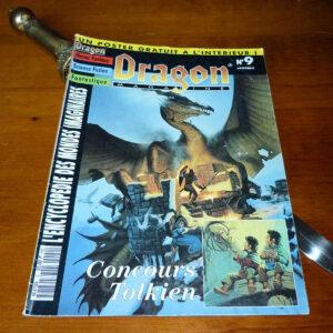Dragon Magazine 9 concours Tolkien