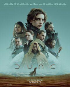 Affiche film Dune Denis Villeneuve