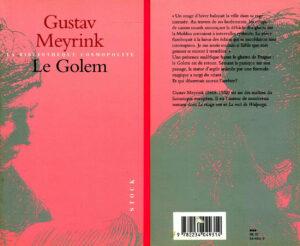 Le Golem Gustav Meyrink Stock