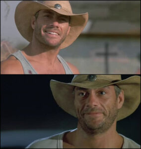 Inferno Jean-Clauve Vandamme cowboy